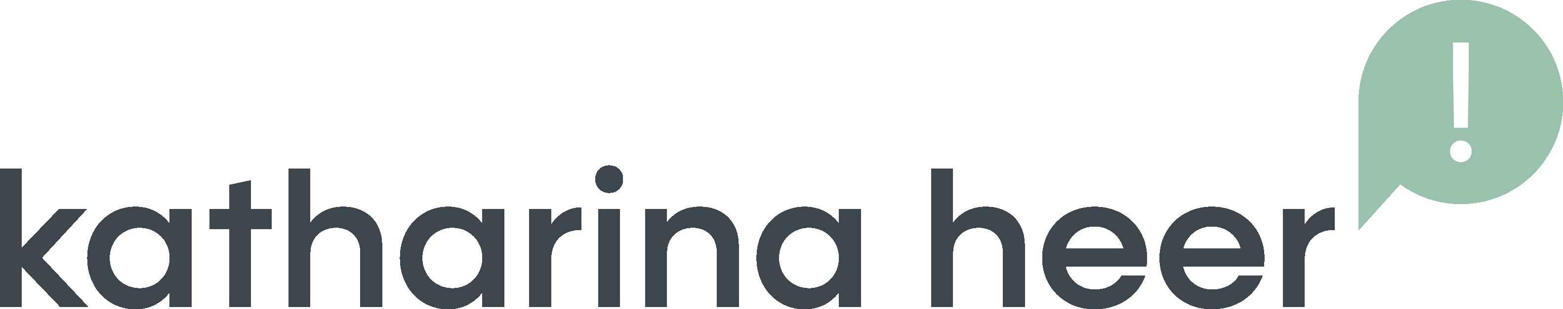 logo katharina heer büro für visuelle kommunikation
