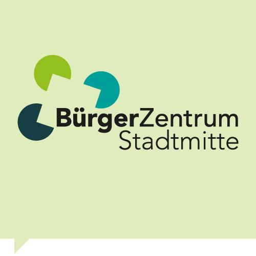 Logo design bürgerzentrum stadtmitte leonberg