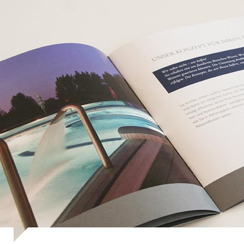grafik design interspa gruppe stuttgart firmenporträt innenseite